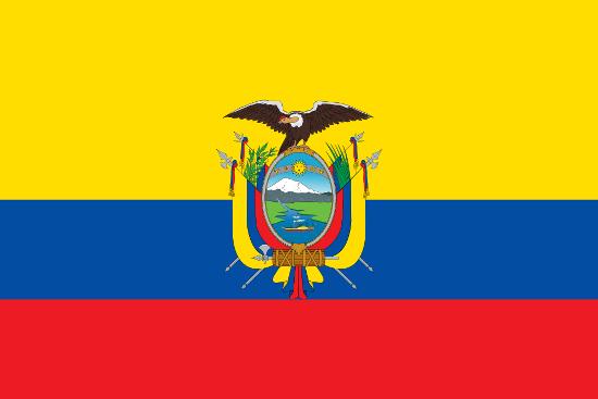 Bandera de Ecuador actual