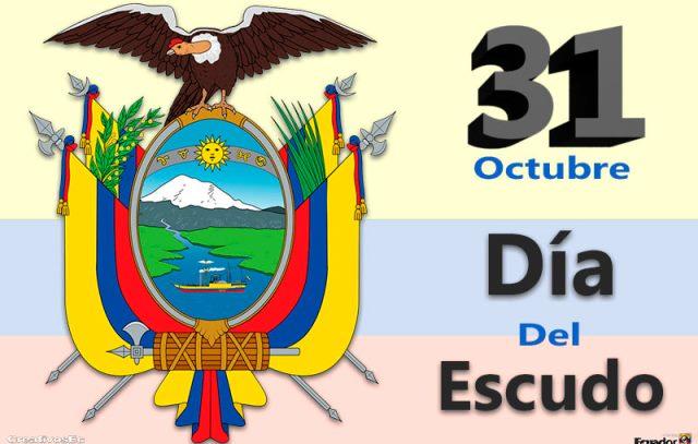 Día del escudo de Ecuador
